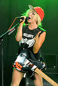 Aug 18, 2012: TING TINGS - V Festival Day 1 - Chelmsford Essex UK