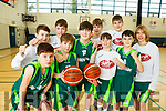 Squad members of the Mercy Mounthawk U14 Basketball team who qualified for the All Ireland basketball series.L-r, Jack Doyle, Tim Pollmeen-Daamen, Cian O'Shea, Killian Litchfield, Donal O'Sullivan, Fionan Egan, Jack McCormack, Sean Rice, Seamie Sugrue and Coren Hughes.