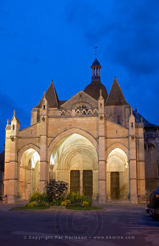 notre dame church beaune cote de beaune burgundy france