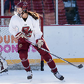 Megan Keller (BC - 4) - The Boston College Eagles practiced at Fenway on Monday, January 9, 2017, in Boston, Massachusetts.Megan Keller (BC - 4) - The Boston College Eagles practiced at Fenway on Monday, January 9, 2017, in Boston, Massachusetts.