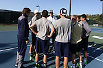 23 April 2015: Notre Dame head coach Ryan Sachire. The Notre Dame University Fighting Irish played the Georgia Tech University Ramblin' Wreck at the Cary Tennis Park in Cary, North Carolina in a 2015 NCAA Division I Men's Tennis and Atlantic Coast Conference Tournament First Round match. Georgia Tech won the match 4-0.