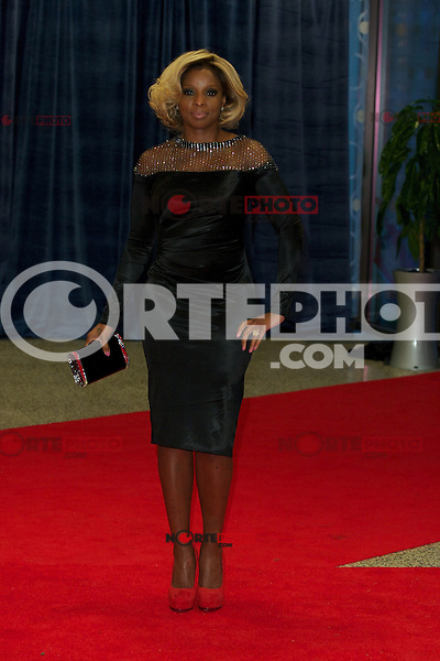 WASHINGTON, DC - APRIL 28: Mary J. Blige attends the 2012 White House Correspondents Dinner at the Washington Hilton Hotel in Washington, D.C  on April 28, 2012  ( Photo by Chaz Niell/Media Punch Inc.)