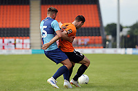 a Wycombe Wanderers trialist and Dan Sparkes of Barnet during Barnet vs Wycombe Wanderers, Friendly Match Football at the Hive Stadium on 13th July 2019
