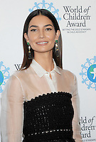 NEW YORK, NY - OCTOBER 27: Mode Lily Aldridge Followill  attends the World of Children Awards Ceremony at 583 Park  on October 27, 2016 in New York City. Photo by John Palmer/ MediaPunch