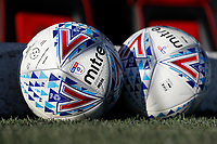 8th February 2020; Griffin Park, London, England; English Championship Football, Brentford FC versus Middlesbrough; Mitre Delta Official Match Ball of the EFL