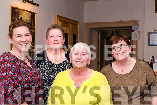 Helping to organise the Threshing Cancer Bingo in Killorglin's Manor Inn on Friday<br /> L-R Lorraine Hickey from Glenflesk, Kathleen Breen from Beaufort, Mary Ferris &amp; Dienna Ferris from Beaufort.