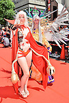 "August 3, 2013, Nagoya, Aichi, Japan : Brazilian participants march during the red carpet ceremony for the ""World cosplay summit 2013"" in Nagoya, Aichi prefecture, Japan, on August 3, 2013. (Photo by AFLO)"