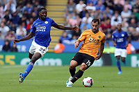 Wilfred Ndidi of Leicester City and Jonny of Wolverhampton Wanderers during Leicester City vs Wolverhampton Wanderers, Premier League Football at the King Power Stadium on 11th August 2019