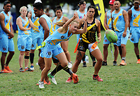 Action from day three of the 2018 New Zealand Tag Football Nationals at Fraser Park in Wellington, New Zealand on Sunday, 25 February 2018. Photo: Dave Lintott / lintottphoto.co.nz