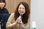 Yasuko Anbiru, <br /> JANUARY 17, 2017 : <br /> 1st Mascot Selection Review Conference for the Tokyo 2020 Olympic and Paralympic Games in Tokyo. <br /> (Photo by Sho Tamura/AFLO SPORT)