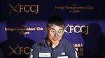 Kojiro Shiraishi, JULY 25, 2016 - Sailing : Kojiro Shiraishi attends a press conference at Tokyo's Foreign Correspondents' Club of Japan, Tokyo, Japan. Shiraishi will compete in the Vendee Globe around-the-world solo yacht race in November 2016. (Photo by Sho Tamura/AFLO SPORT)