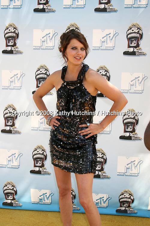 Kim Stolz.MTV Movie Awards 2008.Universal City.Los Angeles,  CA.May 31, 2008.©2008 Kathy Hutchins / Hutchins Photo .