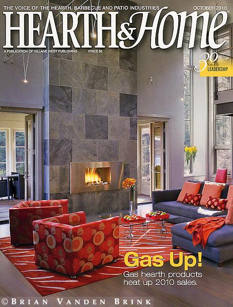 Hearth & Home Cover October 2010. Design: Seimasko + Verbridge