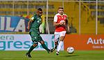 La Equidad venció 2-0 a Independiente Santa Fe. Partido aplazado de la fecha 16 Liga Águila I-2018.