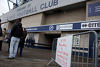 The match between Millwall and Nottingham Forest is a sell out for the Sky Bet Championship match between Millwall and Nottingham Forest at The Den, London, England on 30 March 2018. Photo by Alan  Stanford / PRiME Media Images.