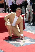 Actor Matt Damon is honored with the 2,343rd star on the 'Hollywood Walk of Fame' on Hollywood Boulevard in Los Angeles, California on 25 July 2007. Photo by Nina Prommer/Milestone Photo