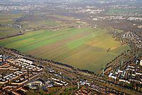 Oberbillwerder: EUROPA, DEUTSCHLAND, HAMBURG 27.11.2016: Oberbillwerder, rechts Bergedorf West, unten Neu Allermöhe West