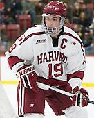 Jimmy Vesey (Harvard - 19) - The Harvard University Crimson defeated the visiting Colgate University Raiders 7-4 (EN) on Saturday, February 20, 2016, at Bright-Landry Hockey Center in Boston, Massachusetts,