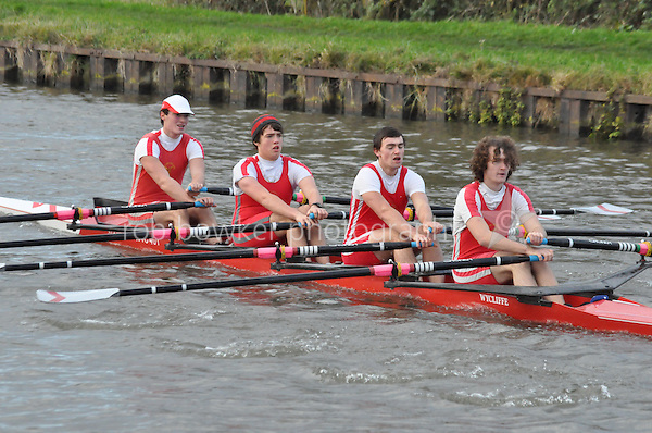 101 WYC Wycliffe College. Wycliffe Small Boats Head 2011. Saturday 3 December 2011. c. 2500m on the Gloucester Berkeley Canal