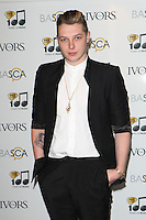 John Newman arriving for the 59th Ivor Novello Awards, at the Grosvenor House Hotel, London. 22/05/2014 Picture by: Alexandra Glen / Featureflash
