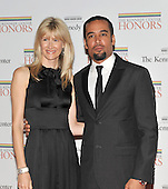 Washington, DC - December 5, 2009 -- Laura Dern and Ben Harper arrive for the formal Artist's Dinner at the United States Department of State in Washington, D.C. on Saturday, December 5, 2009..Credit: Ron Sachs / CNP.(RESTRICTION: NO New York or New Jersey Newspapers or newspapers within a 75 mile radius of New York City)