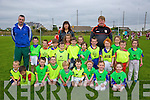 Scartaglin Under 6's at the 50 Celebration of the Scartaglin GAA Football Blitz and fun Day on Saturday