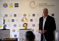 Sir Bob Charles. 2017 Asia-Pacific Amateur Championship Media and Partner Golf Day at Royal Wellington Golf Club in Wellington, New Zealand on Monday, 16 October 2017. Photo: Dave Lintott / lintottphoto.co.nz