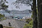 View from Glover House at Nagasaki Glover Garden.