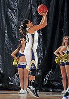 Florida International University guard/forward Sabina Salas (20) plays against Lynn University.  FIU won the game 68-30 on November 30, 2011 at Miami, Florida. .