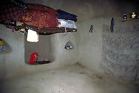 Toilet cavity of an afghan farmer house
