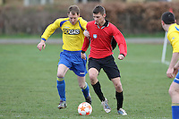Dean Park Inn beat AS Muscliff 4-1 in Bournemouth Sunday League division 7 at Slades Farm..3rd April 2011