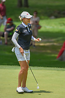 Sarah Jane Smith (AUS) sinks her putt on 2 during round 4 of the U.S. Women's Open Championship, Shoal Creek Country Club, at Birmingham, Alabama, USA. 6/3/2018.<br /> Picture: Golffile | Ken Murray<br /> <br /> All photo usage must carry mandatory copyright credit (&copy; Golffile | Ken Murray)