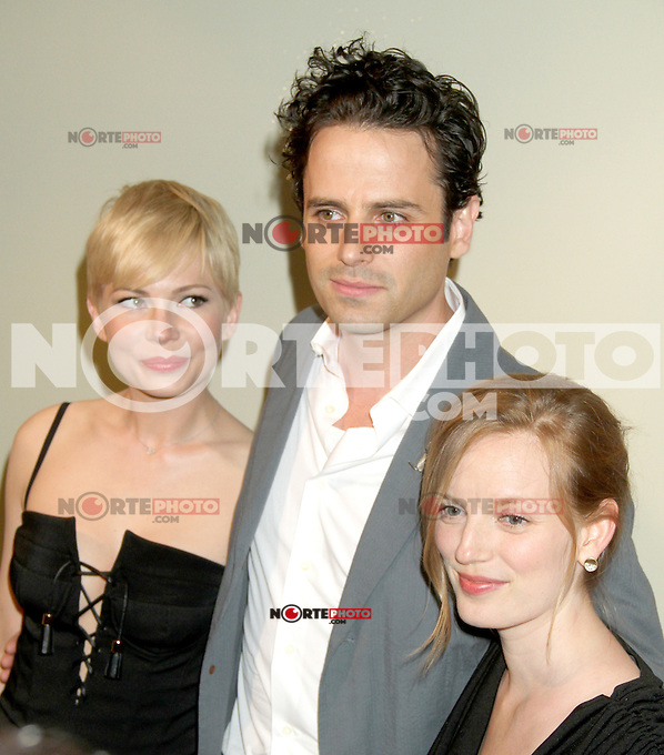 June 21, 2012 Michelle Williams, Luke Kirby and Director Sarah Polley at the screening of Take This Waltz presented by Forevermark at the Sunshine Landmark in New York City. &copy; RW/MediaPunch Inc. NORTEPHOTO.COM<br />