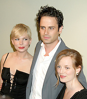 June 21, 2012 Michelle Williams, Luke Kirby and Director Sarah Polley at the screening of Take This Waltz presented by Forevermark at the Sunshine Landmark in New York City. © RW/MediaPunch Inc. NORTEPHOTO.COM<br />