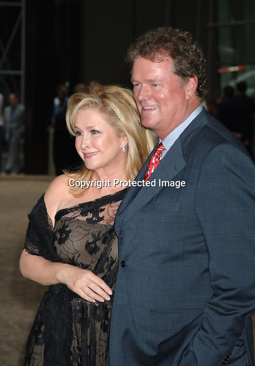 Kathy Hilton and husband Rick Hilton ..arriving at the party thrown by Kathy and Rick Hilton for ..their daughter Paris Hilton for her new perfume on June 14, 2006 at Le Cirque. ..Robin Platzer, Twin Images..