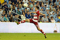 Andrew Wiederman FC Dallas in action... Sporting KC defeated FC Dallas 2-1 at LIVESTRONG Sporting Park, Kansas City, Kansas.