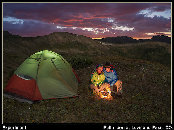I had seen some interesting landscapes taken under the light of a full moon.<br />