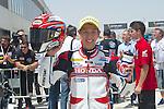 CEV Repsol en Motorland / Aragón <br /> a 08/06/2014 <br /> En la foto :<br /> moto3 races<br /> hiroki ono<br />RM/PHOTOCALL3000