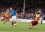 Kenny Miller with a chance in front of goal