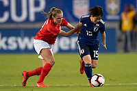 Tampa, FL - Monday, March 05, 2019: England defeated Japan 3-0 to win the SheBelieves Cup at Raymond James Stadium.