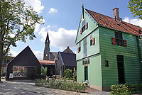Nederland - Zaanstad Zaandijk - 2020 . De Lagedijk.  Het uit Koog aan de Zaan afkomstige gemeentelijke monument Hero de Jager uit 1650 is op deze plek herbouwd. Foto Berlinda van Dam / Hollandse Hoogte