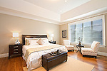 Master bedroom Renata has recently photographed. Home staging and furniture rental by Rachel Craggy from CM Staging Solutions, Inc.