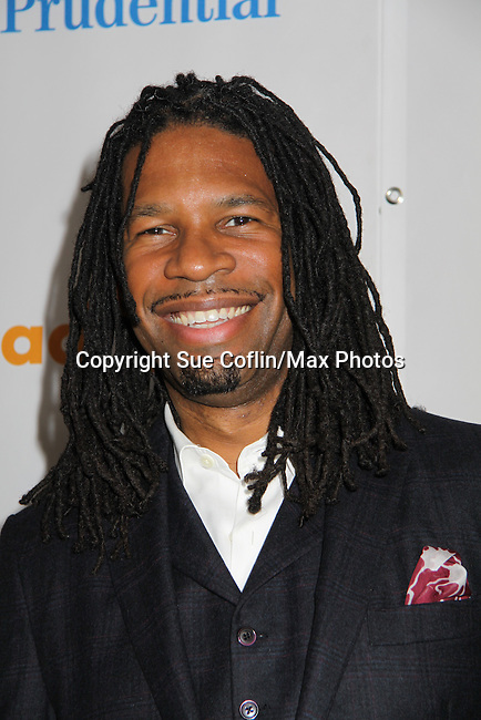 LZ Granderson (sports journalist) at the 22nd Annual Glaad Media Awards honoring Ricky Martin (GH) & Russell Simmons on March 19, 2011 at the New York Marriott Marquis, New York City, New York. (Photo by Sue Coflin/Max Photos)