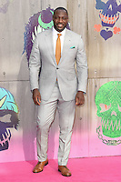 "Adewale Akinnuoye-Agbaje<br /> arrives for the ""Suicide Squad"" premiere at the Odeon Leicester Square, London.<br /> <br /> <br /> ©Ash Knotek  D3142  03/08/2016"