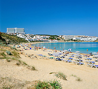Spain, Balearic Islands, Menorca, Arenal d'en Castell: popular resort in the North | Spanien, Balearen, Menorca, Arenal d'en Castell: beliebter Ferienort im Norden
