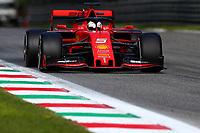 #05 Sebastian Vettel, Scuderia Ferrari. Italian GP, Monza 5-8 September 2019<br /> Monza 08/09/2019 GP Italia <br /> Formula 1 Championship 2019 <br /> Photo Federico Basile / Insidefoto