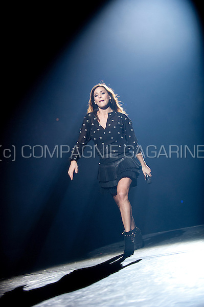 Australian singer Natalie Imbruglia performing at the Night Of The Proms, in Antwerp (Belgium, 14/11/2015)