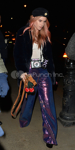 Lady Mary Charteris attending Rolling Stone Mick Jagger's Christmas party in London, UK.<br /> <br /> DECEMBER 13th 2018. Credit: Matrix/MediaPunch ***FOR USA ONLY***<br /> <br /> REF: LTN 184623