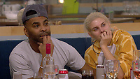 Ginuwine and Ashley James.<br /> Celebrity Big Brother 2018 - Day 8<br /> *Editorial Use Only*<br /> CAP/KFS<br /> Image supplied by Capital Pictures