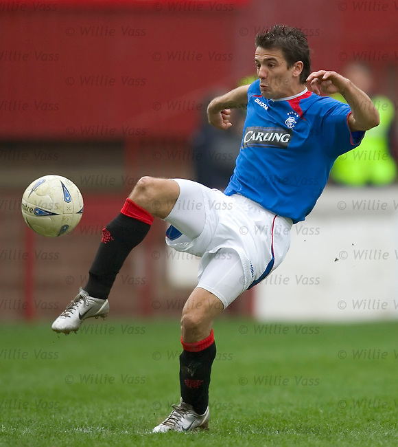 Nacho Novo, Rangers.stock season 2004-2005.pic willie vass